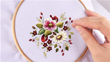 How To Embroider Cross Stitch For Beginners